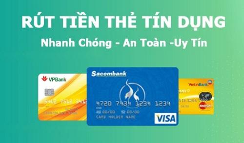 Rút tiền mặt thẻ tín dụng giúp đáp ứng nhu cầu cho khách hàng và giải quyết các vấn đề trong cuộc sống